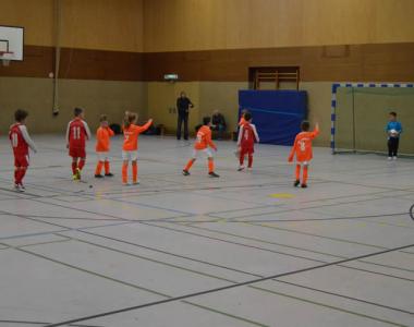 Hallenstadtmeisterschaft F und E Junioren 2013/14