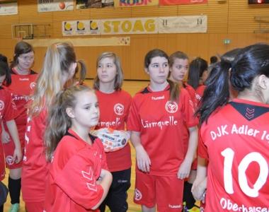 Hallenstadtmeisterschaft U17 Mädchen 2014